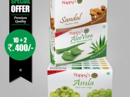 Happy's Amla Soap (Pay for 10 Get 12 Combo Offer)
