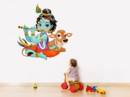 Lord Krishna WallSticker_Rpc060