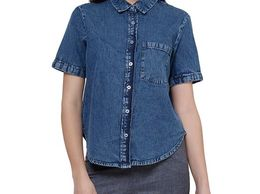 Women Trendy Denim Shirt