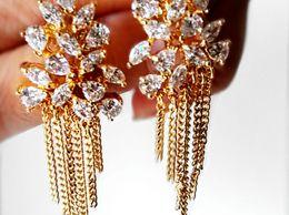 Raindrops Statement Earrings