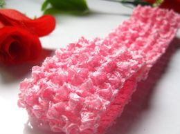 AkinosKIDS Buy Online Baby Pink Kids Crochet headband for Parties