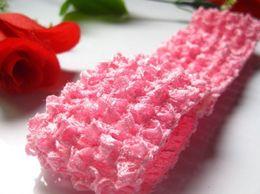 AkinosKIDS Buy Online Baby Pink Kids Crochet headband for Parties