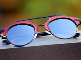 stylish red frame sunglasses