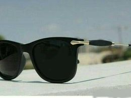 Dark Black Metal Sunglasses