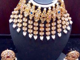 Naina creations handcrafted Kundan set