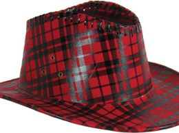 checkered-cowboy-hat-cap-maroon-1489390079
