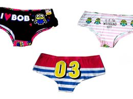 ME Brand Designer Panty combo of 3 with 3 design