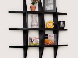 Onlineshoppee Big Tier MDF Wall Shelves