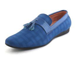 Birkens Men loafers PL-BLU