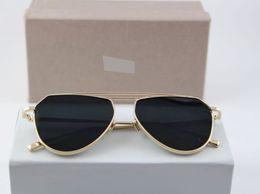 Royal C-011Golden Black Sunglasses
