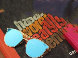 Royal C-014 Golden Blue Sunglasses