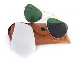 Royal Gradient Aviator Sunglasses (Green)