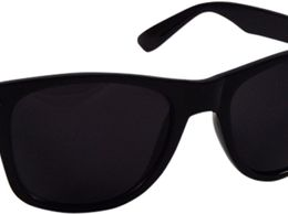 Wayfarer Black Glass Royal and luxurious look for Unisex