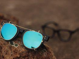 Trendy Aqua Blue Unisex Sunglasses with 100 UV Protection
