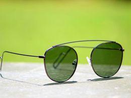 Sunglasses Round Black Goggles