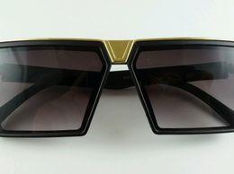 Black Mercury Square  Sunglasses