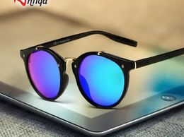 Antiqa Stylish Sunglasses Half Round Blue Mercury Goggles For Unisex (AQ_SG_1005)