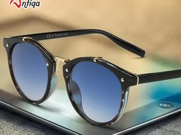 Antiqa Stylish Sunglasses Round Blue Goggles New Design For Unisex (AQ_SG_1009)