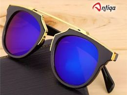 Antiqa Stylish Sunglasses Blue Mercury Fancy Goggles For Unisex (AQ_SG_1003)
