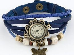 NITYA  White Dial Blue Strap Round Analogue watch for Girls And Womens