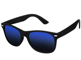 Singco Black & Blue Color Wayfarer Sunglasses For Unisex