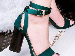 Green Heels for Women