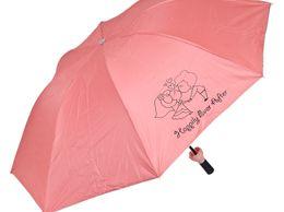 Sultaan Fashionable Wine Bottle Peach Cover Travel Umbrella