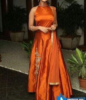 Superb Tapeta Silk Embroidered Dress
