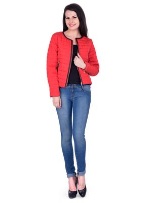 Women quilted Jacket jk162a