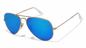 gold and blue stylish sunglasses 077