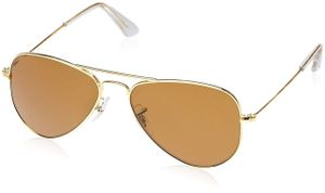 gold and brown stylish sunglasses 078