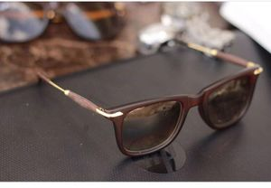 gold and brown stylish branded sunglasses 01046
