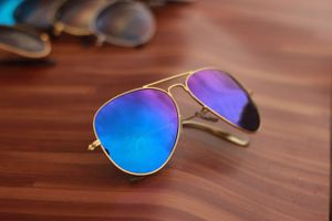 gold and violet stylish sunglasses 01074