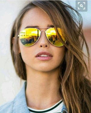 gold and yellow stylish sunglasses 01339