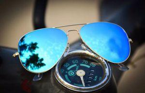 gold and blue stylish sunglasses 01344