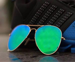 gold and blue branded stylish sunglasses 01349