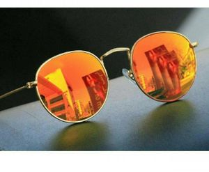 gold and orange stylish branded sunglasses 01356