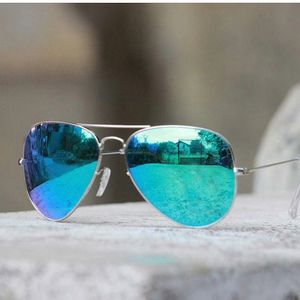 silver and blue branded sunglasses 01364