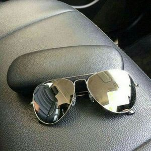 silver and silver stylish sunglasses 01478
