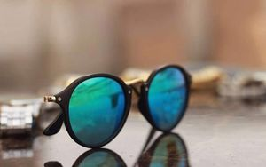 black and blue stylish sunglasses 01482 free gift