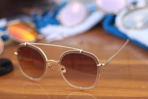 ohh new collection gold and brown stylish sunglasses  01630