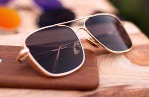 hot gold and black stylish sunglasses 01658