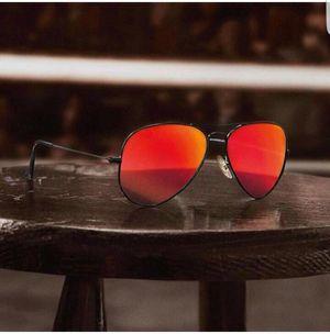 black and orange stylish sunglasses 0254