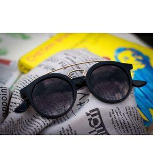 gold and black sun glasses for men 4234