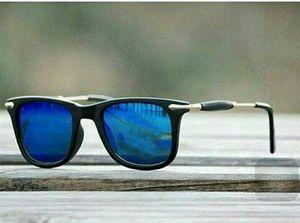 gold and blue stylish sunglasses 0250