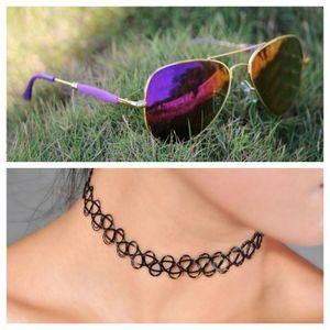 gold and purple stylish sunglasses 0811 free gift