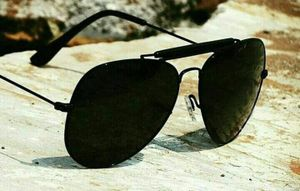 black and black stylish branded sunglasses 01030 chokar free