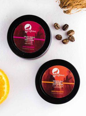 MCaffeine Skin Zex pack - Face Cream (50ml) + Body Butter (50ml)