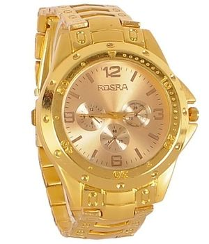 ShopHub Gold Rosra Watch