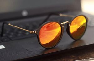 Black and orange new stylish sunglasses 3285